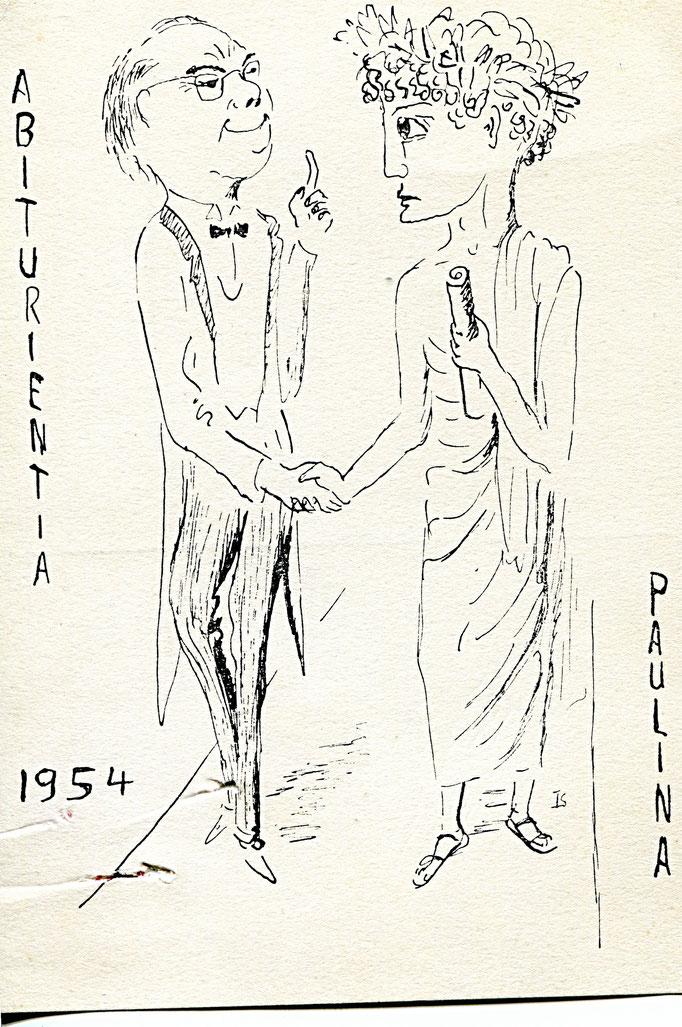 Abiturientia Paulina 1954