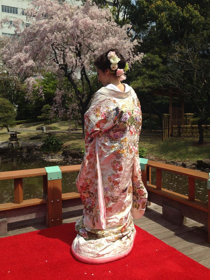 東郷神社  着付け:神山朋子