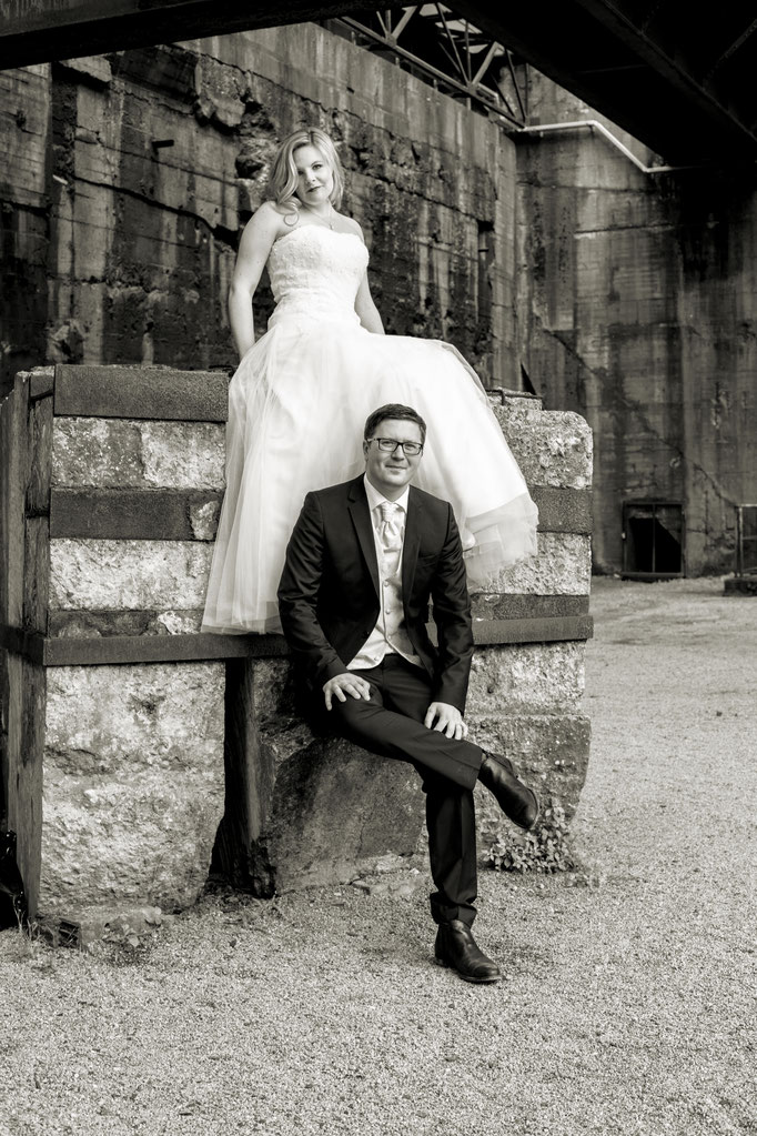 After Wedding Shooting Landschaftspark Duisburg