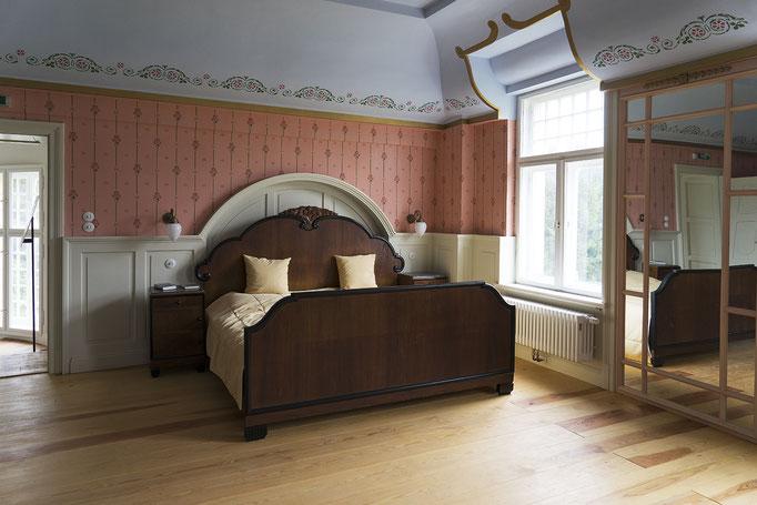 Extravagantes Schlafzimmer