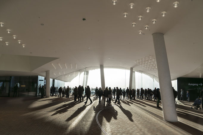 Aussichtsplattform der Elbphilharmonie - Hamburg
