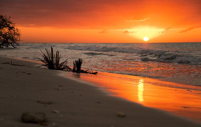 Sonnenuntergang auf Varadero - Kuba