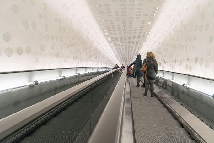 Tube der Elbphilharmonie - Hamburg