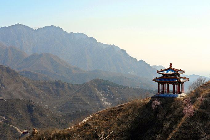 Chinesische Mauer -  Badaling, China