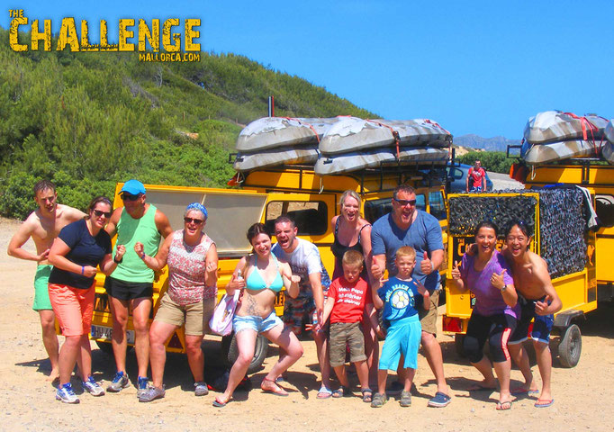 Adventure Tour in Can Picafort The Challenge Mallorca