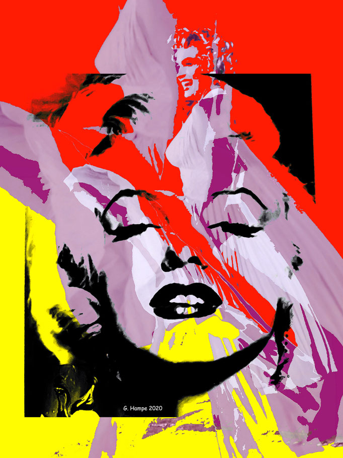 Marilyn goes PoP ArT