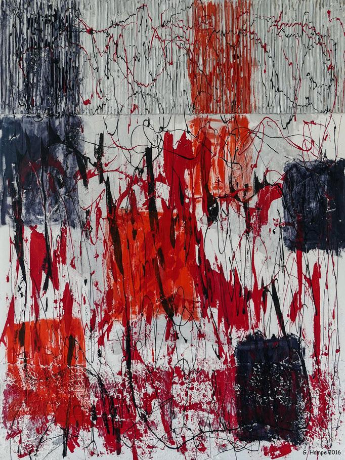 Abstract art 1-2016 80x100 cm canvas