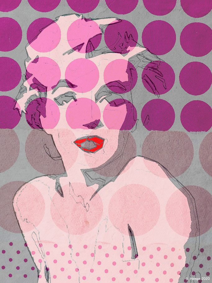 Marilyn with dots