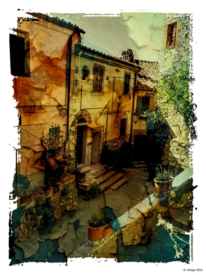Alley in Tuscany