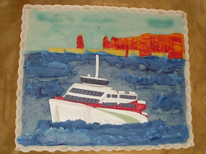 Marzipan-Schiff, Fähre Helgoland