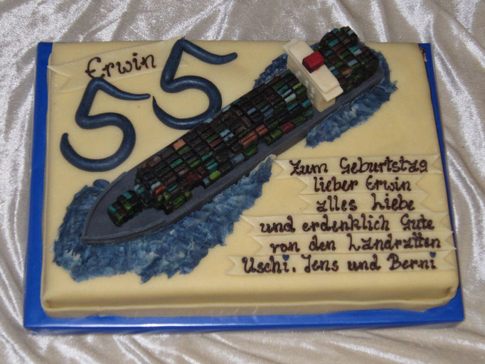 Marzipan-Schiff, Containerschiff