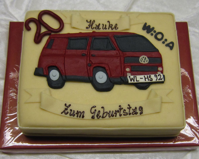 Marzipanauto , VW Bus Relief
