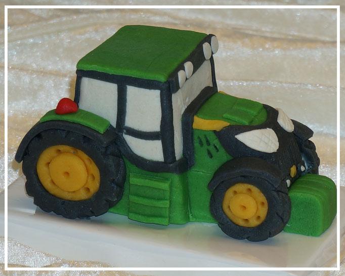 Marzipanauto, Traktor Deere