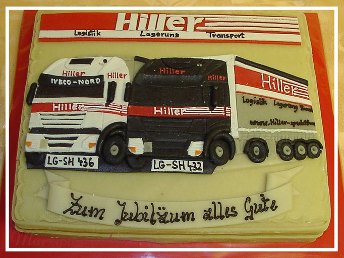 Marzipan-LKW, Relief