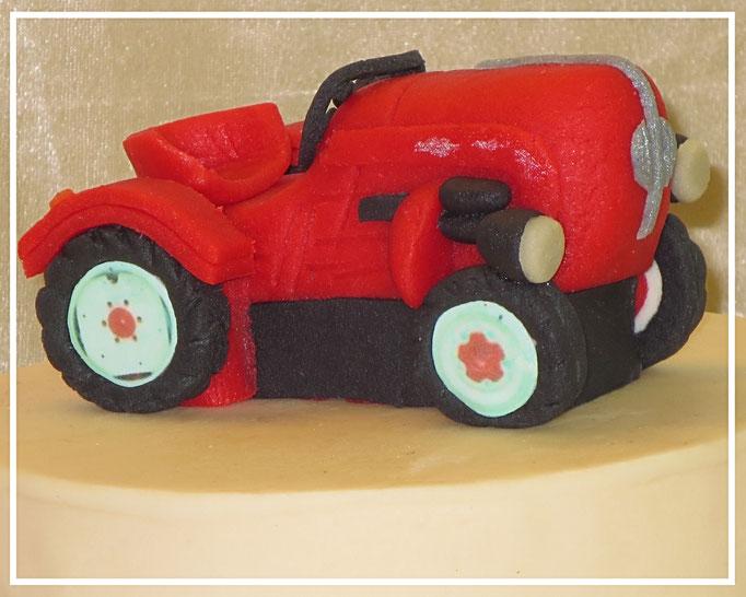 Marzipanauto, Traktor Porsche junior