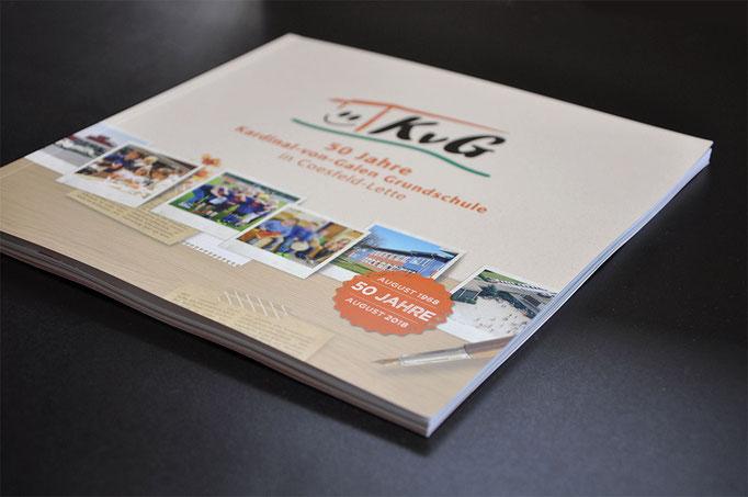 Broschüre zum Jubiläum der Kardinal-von-Galen-Grundschule in Coesfeld-Lette - SATZDRUCK - wir drucken für NRW und das Münsterland
