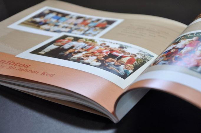 Satzdruck gestaltet und druckt die Broschüre zum Jubiläum der Kardinal-von-Galen-Grundschule in Coesfeld-Lette