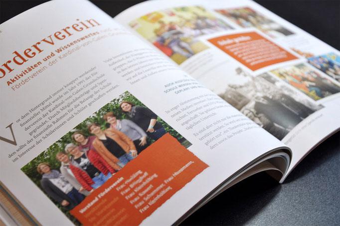 Jubiläums-Broschüre der Kardinal-von-Galen-Grundschule in Coesfeld-Lette - gedruckt und gestaltet von SATZDRUCK