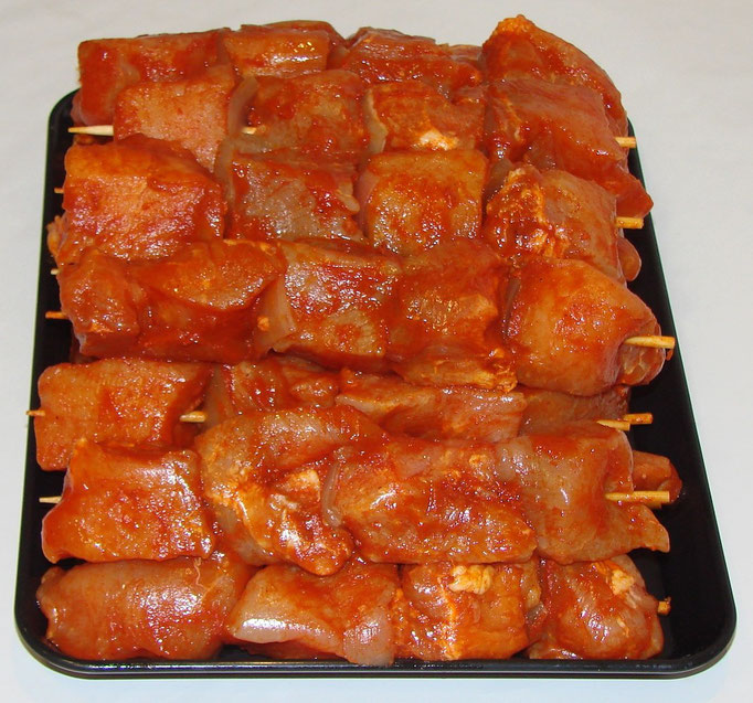 Saté (varkensvlees)
