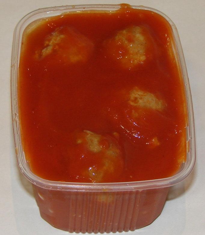 Balletjes in de tomatensaus