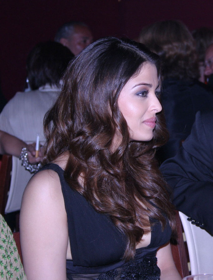 Aishwarya Rai - Festival de Cannes 2005 - Photo © Anik COUBLE