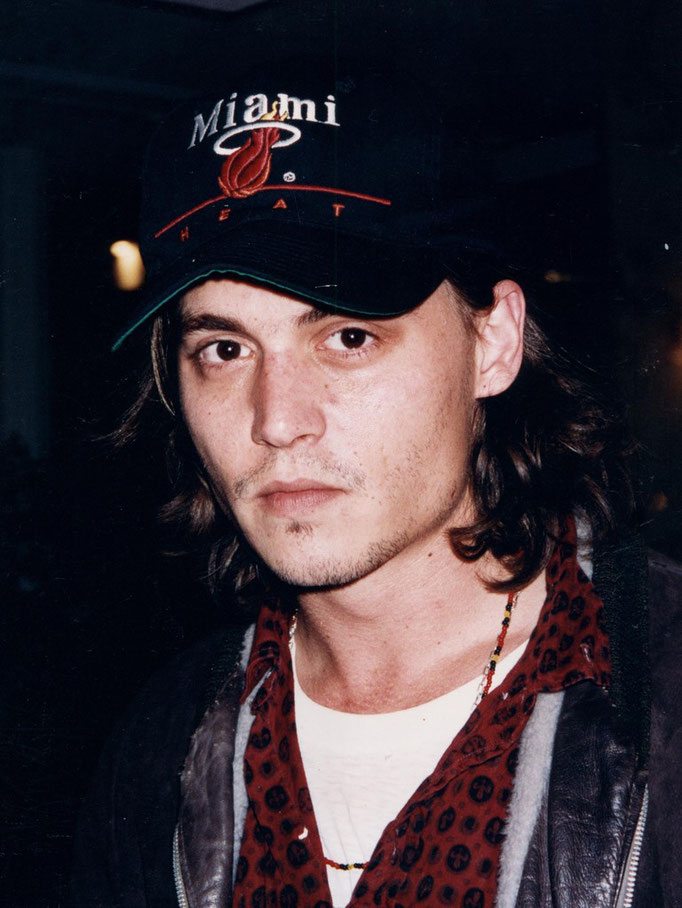 Johnny Depp - Festival de Cannes 1993 - Photo © Anik COUBLE