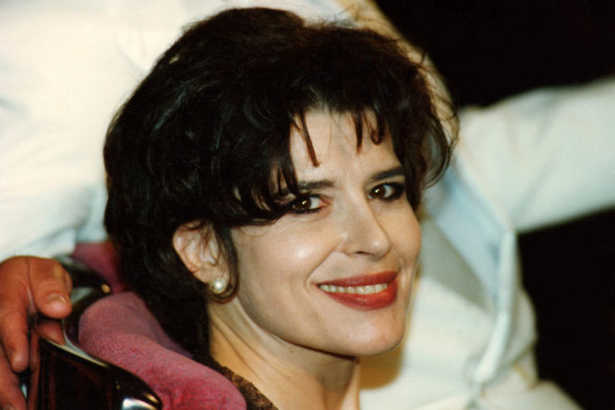 Fanny Ardant - Festival de Cannes 1997 - Photo © Anik COUBLE