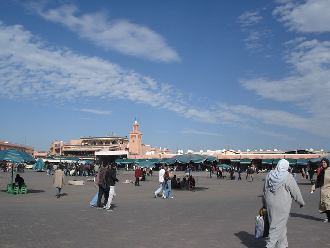 Place Jemaa El Fna - Marrakech © Anik COUBLE