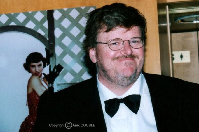 Michael Moore - Festival de Cannes - 2001 - Photo © Anik COUBLE