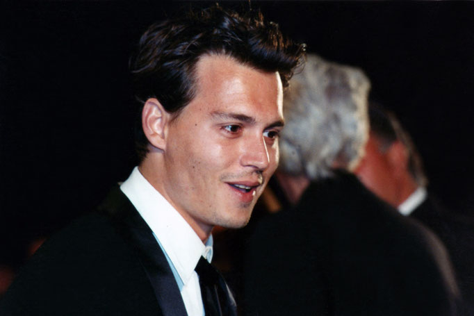Johnny Depp - Festival de Cannes 1995 - Photo © Anik COUBLE