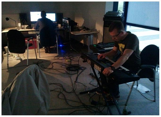 Aufnahme Keyboards