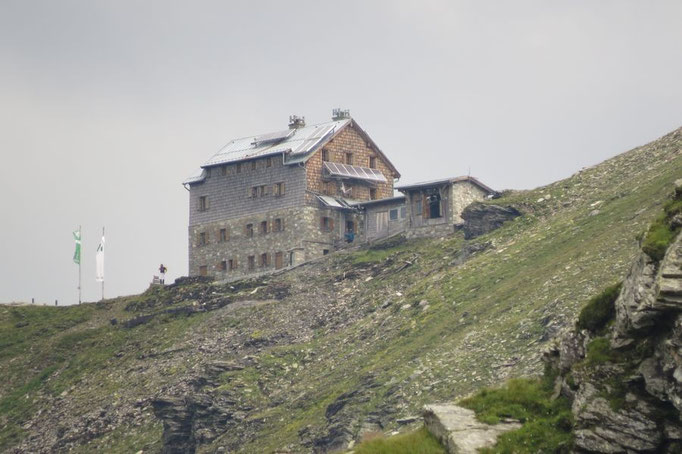 Blick zur Niedersachsenhütte