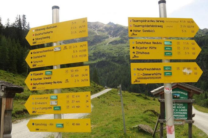 genügend Wanderwege...