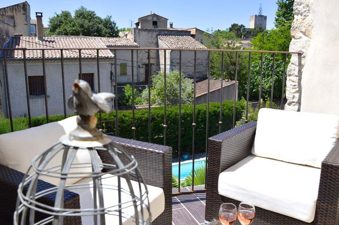 Suite avec terrasse privative - Chambre d'hôtes Provence