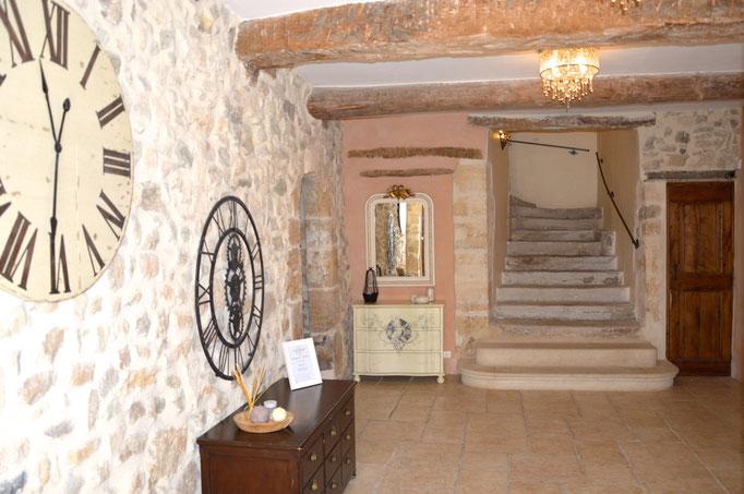 Hall d'entrée - Chambre d'hôtes Provence