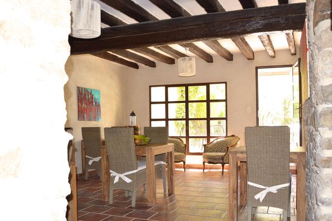 Salle à manger - Chambre d'hôtes Provence