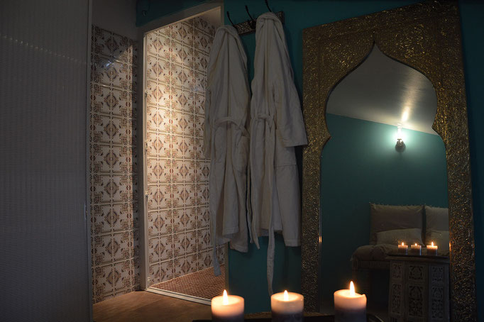 Hammam, spa, bien-être - Chambre d'hôtes Provence