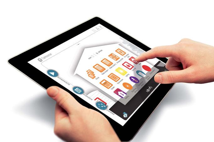 Tahoma app; Somfy Tahoma; Solis; zonwering bedienen applicatie