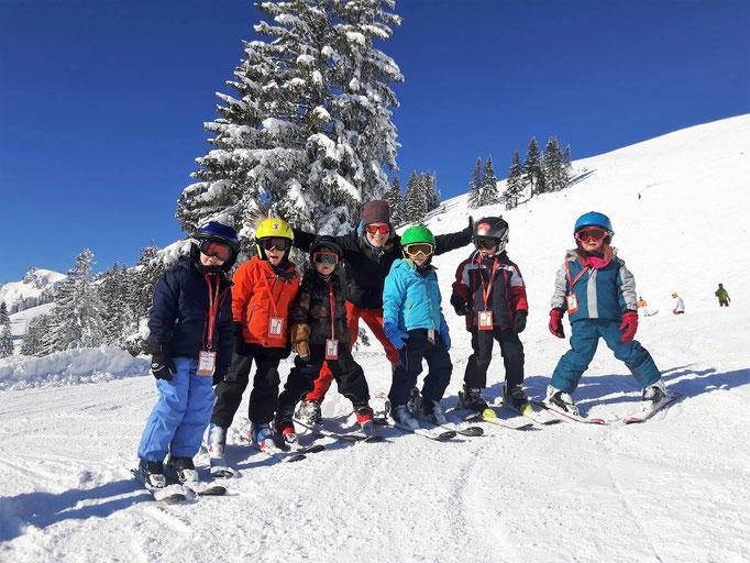 6 Gründe die für einen Skikurs sprechen: Gruppen Erlebnis Skikurs