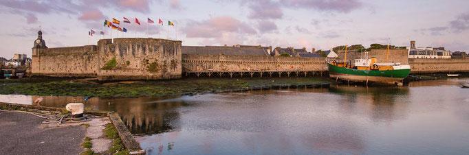 Hafen Concarneau. Bretagne Ausflüge Maison Dodo