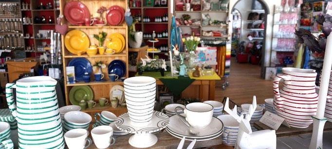 Handgemalte Keramik