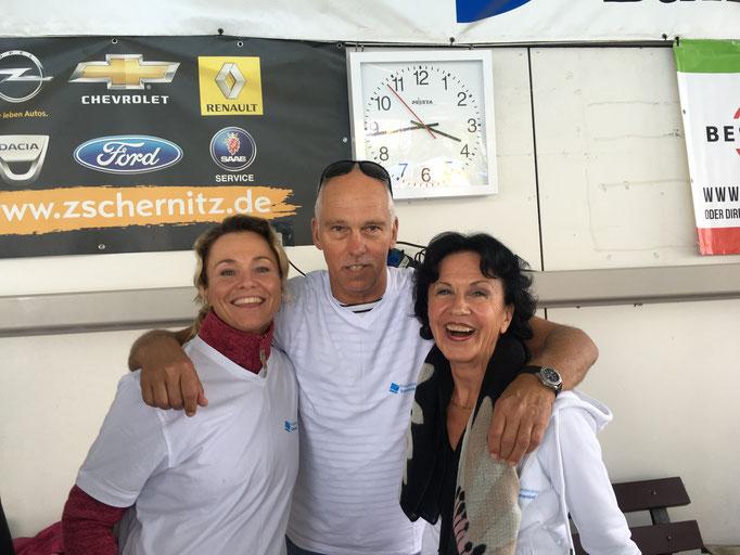 Melanie, Bernd und Roswitha