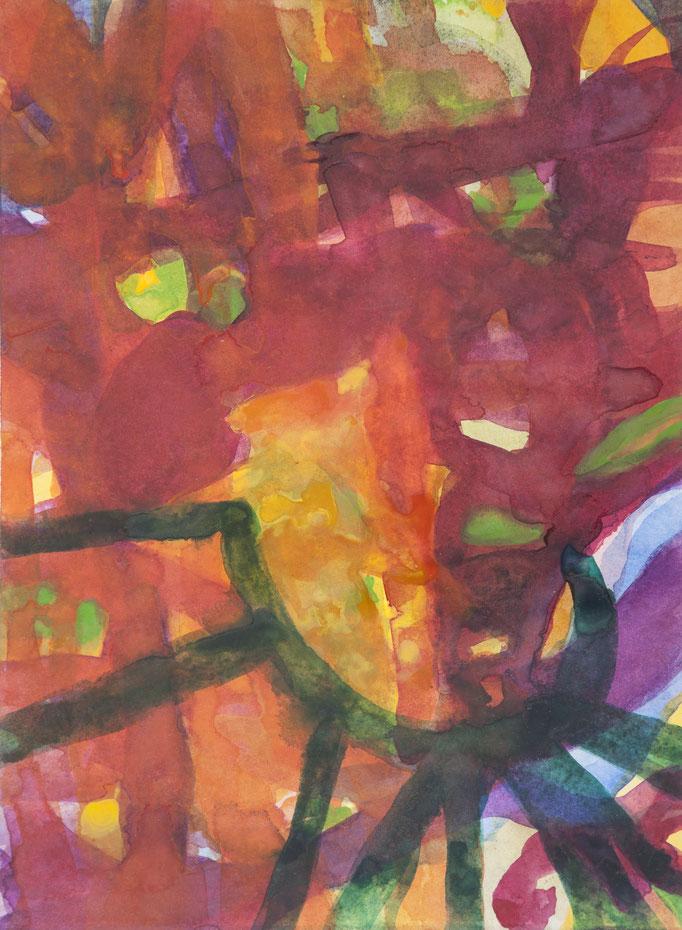 calendula, 2017, 28,5 x 21cm, aquarellfarbe/papier
