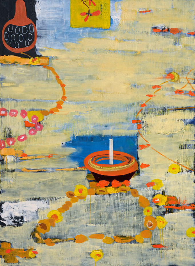 >sandalwood<, 2019, 150 x 110 cm, oil/canvas