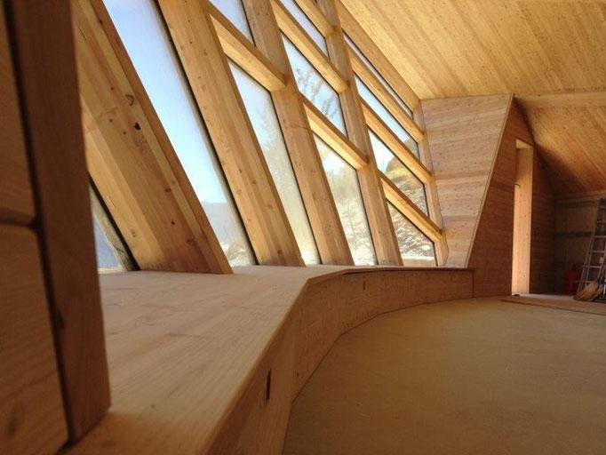 Finestre in legno di larice