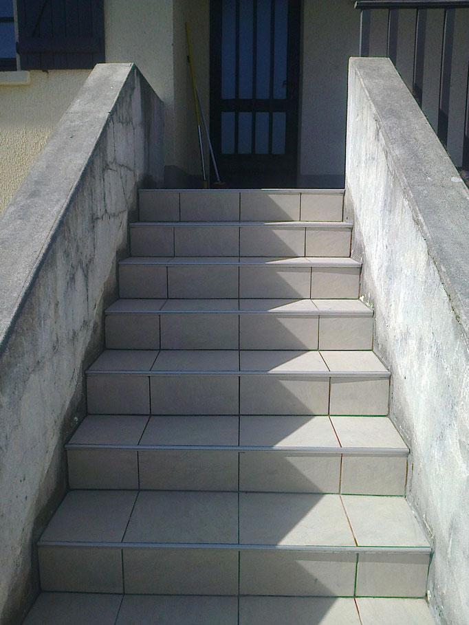 Escalier terminé à Compolibat(Aveyron )12