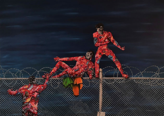 """Sehnsucht 2015"" | 2016 | Öl auf Leinwand | 120x140 cm"