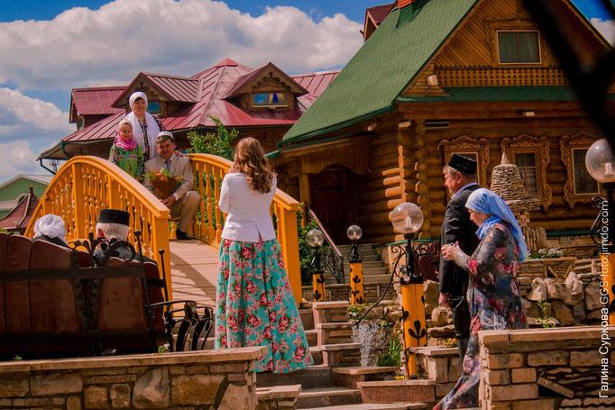 Казань, счастливое семейство