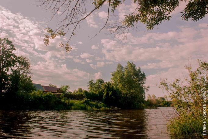 Казань, река Кама