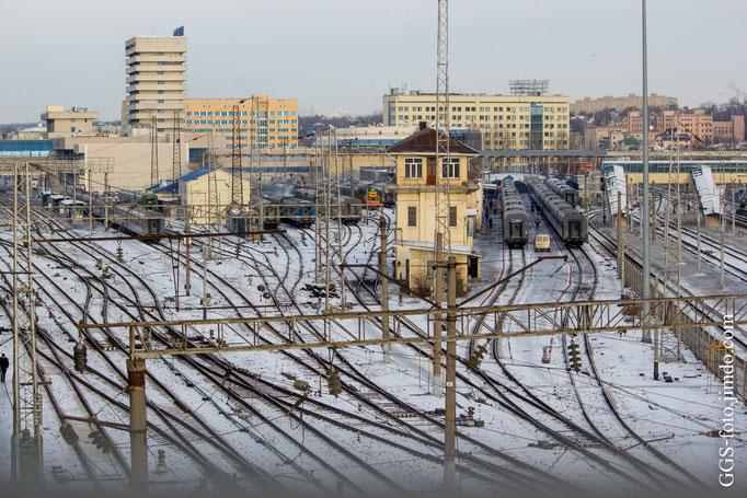 Пригордный железнодорожный вокзал.